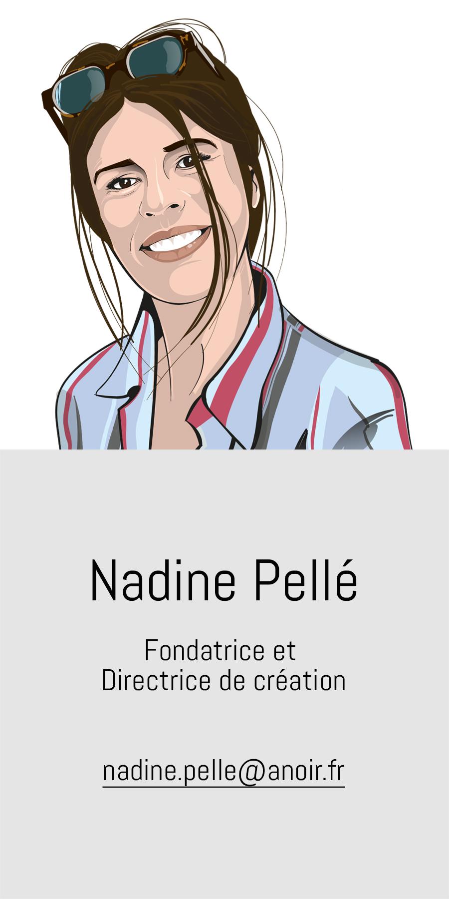 Nadine Pelle, A noir