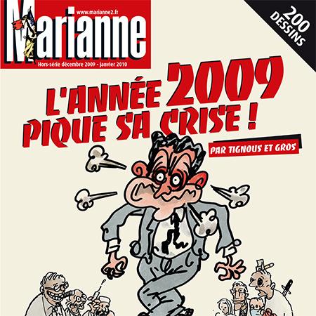 2009 Pique sa crise